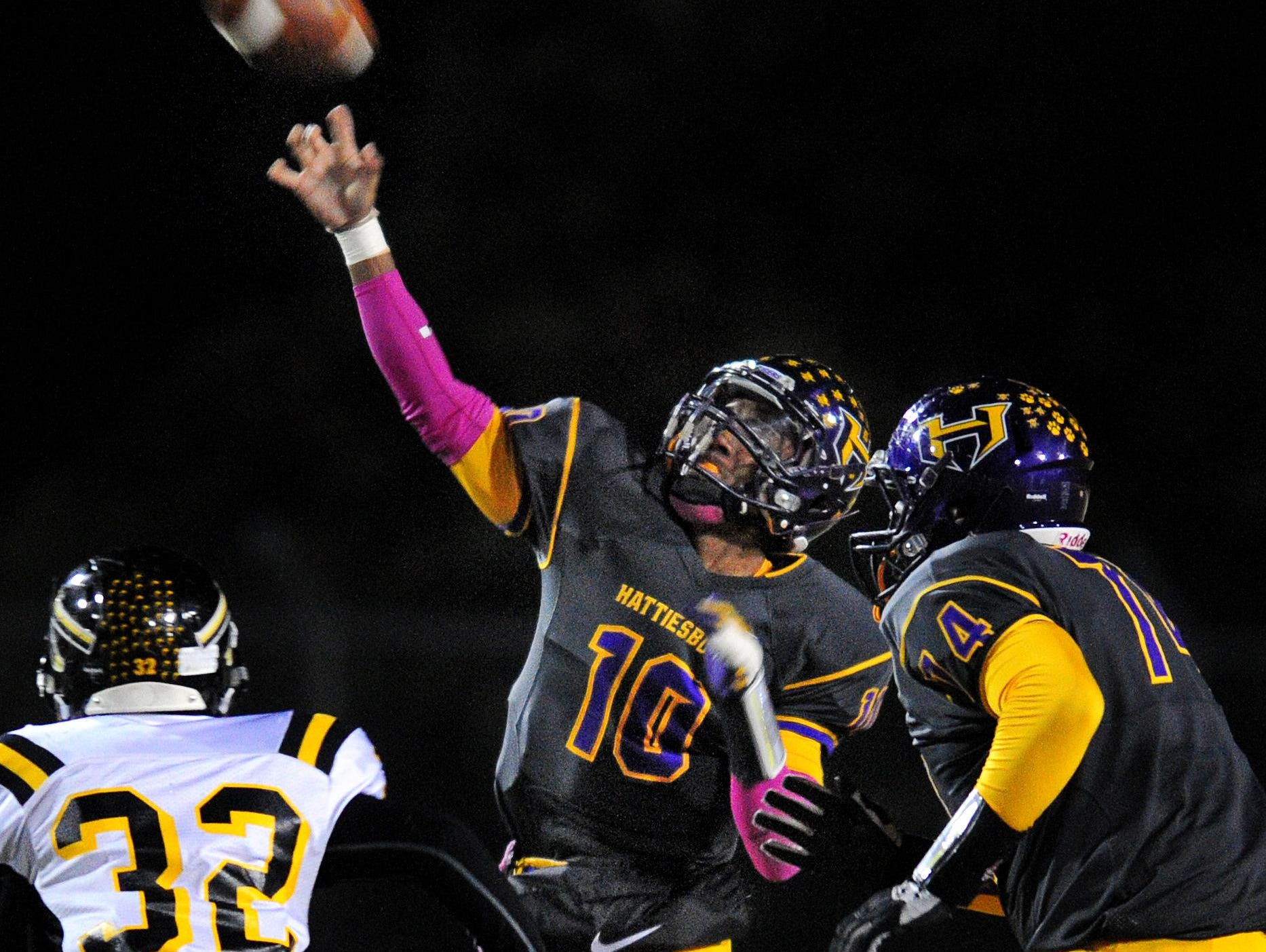 Junior quarterback Julian Conner will be a big key to Hattiesburg High's chances for success this season.