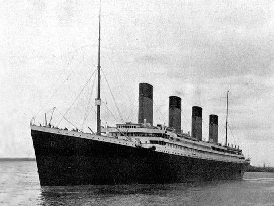 RMS Titanic in 1912.