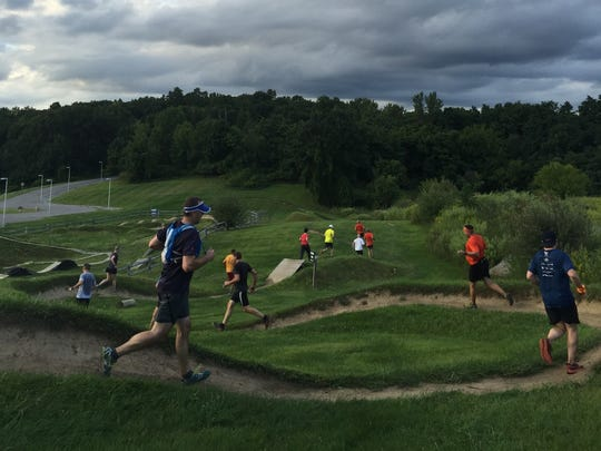 The multi-use trails at Dryer Road Park are popular with mountain bikers and trail runners.