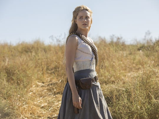 Evan Rachel Wood is leading the revolution as Dolores