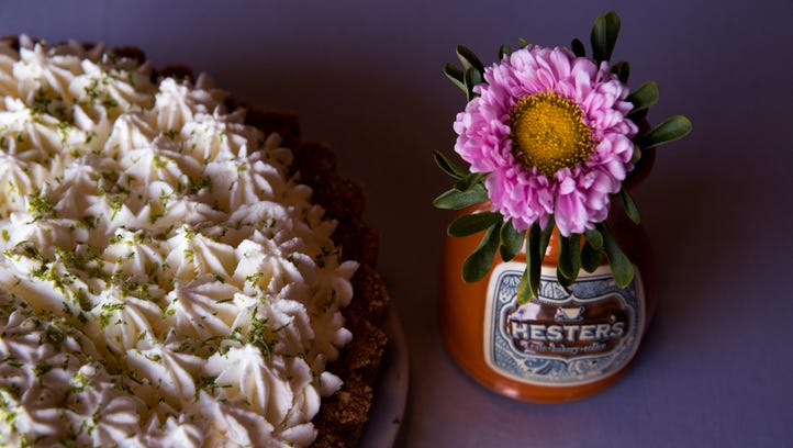 Hester's Cafe features a variety of house-made pie,