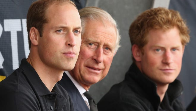 A new tell-all book about Prince Charles digs into his relationship with sons William and Harry.