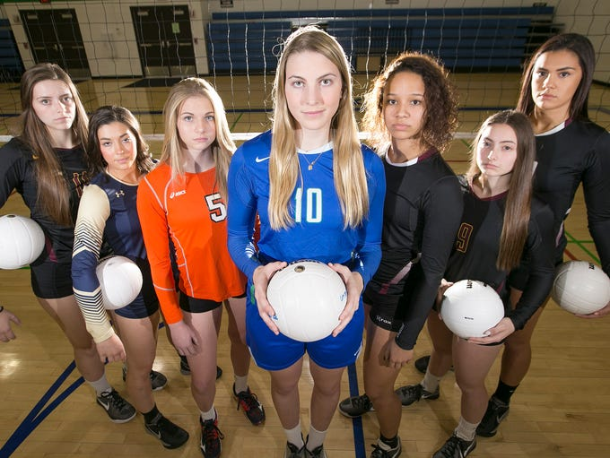 The 2016 All-Arizona Girls Volleyball Team was selected