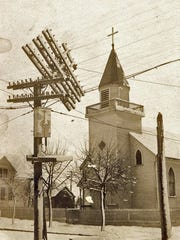 St. Stephens Lutheran church, a community of German Russians, was once located on the northwest corner of 14th and Erie in Sheboygan.