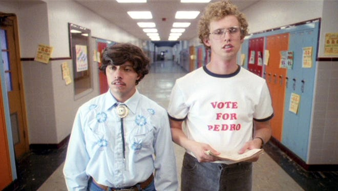 """Efren Ramirez and Jon Heder in a scene from the motion picture """"Napoleon Dynamite."""""""