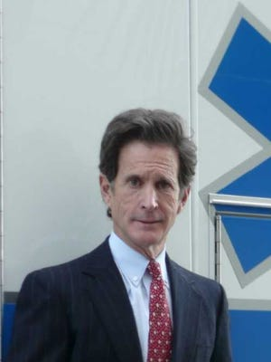 Dr. Robert Tober, medical director, Collier EMS