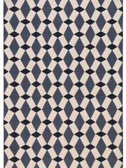 The Rug Company's Ellora Black flat weave ($595 and up).