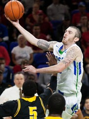 FGCU's Brett Comer, who is 24th in the NCAA in career assists and a two-time A-Sun Conference first-team selection, will play in the Portsmouth Invitational Tournament April 8-11.