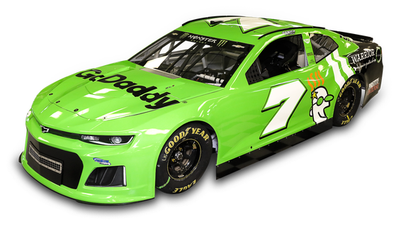 See the first look at Danica Patrick's Daytona 500 car and fire suit
