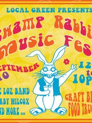 The Swamp Rabbit Music Fest will feature more than