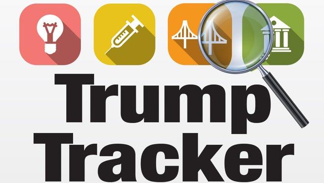 Generic Trump tracker promo for Investigation module
