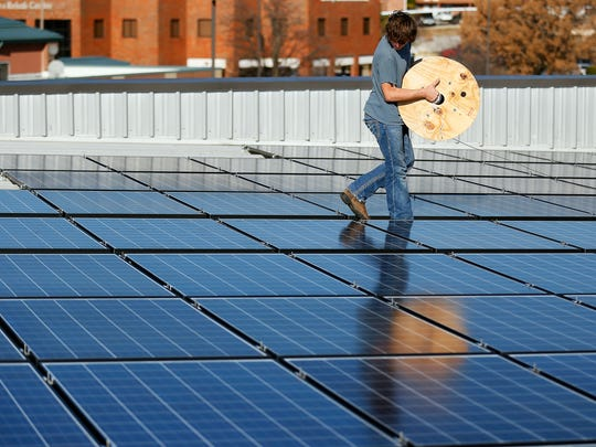 Residential and commercial customers can no longer take advantage of a state-approved program that aims to help people install solar panels like this one installed by Missouri Sun Solar in 2015.