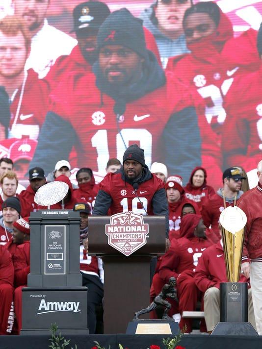 NCAA Football: CFP National Championship-Alabama Parade
