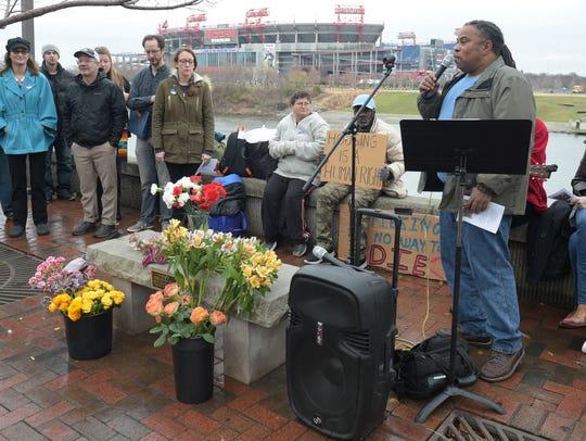 Nashville Homeless Underground Co-Founder Howard Allen