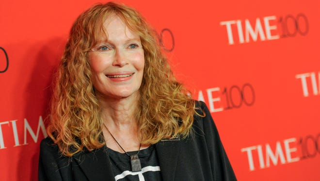 Mia Farrow attends the TIME 100 Gala in New York on April 21, 2015.