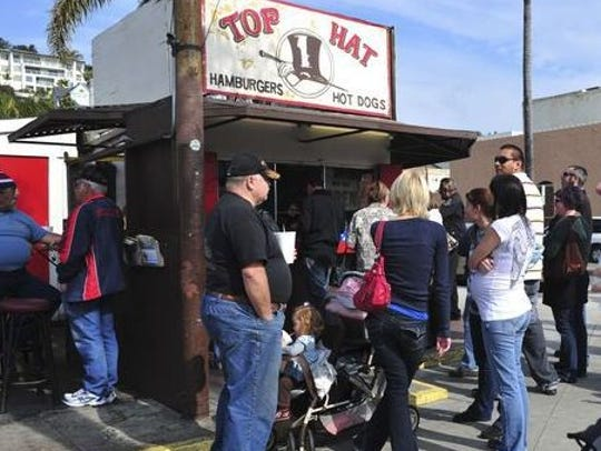 """Top Hat had the coolest sign in Ventura, and that's"