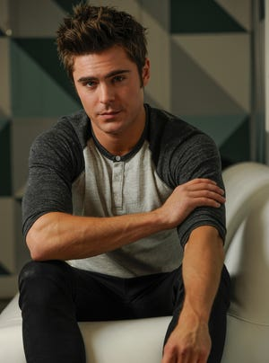 "Zac Efron sends up his image in ""Neighbors."""