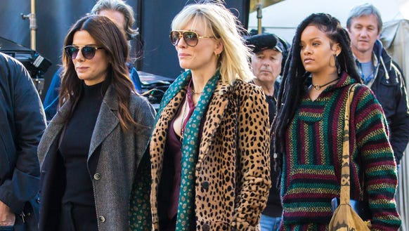 Sandra Bullock, Cate Blanchett and Rihanna on the New