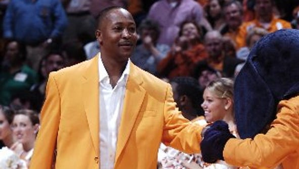 Tony White is introduced in 2009 as a member of Tennessee's