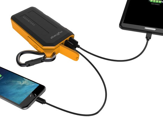 Adventure portable charger.