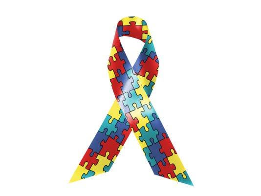 web - autism ribbon
