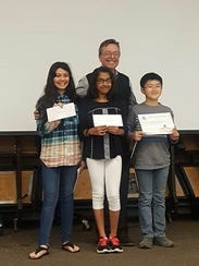 Fifth-grade winners were the One-One Hundred of Nadia