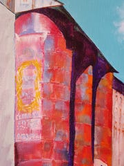 """The Silos at Globe Mills"" by Judy Crumley"