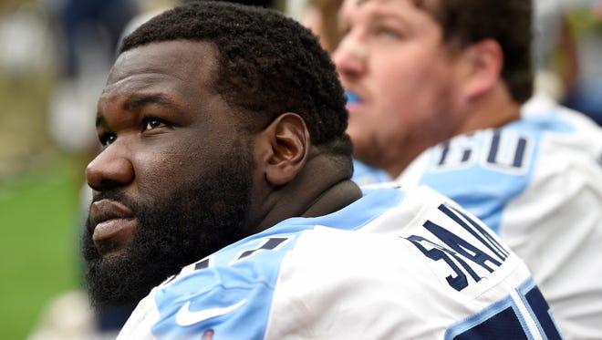 Titans guard Quinton Spain