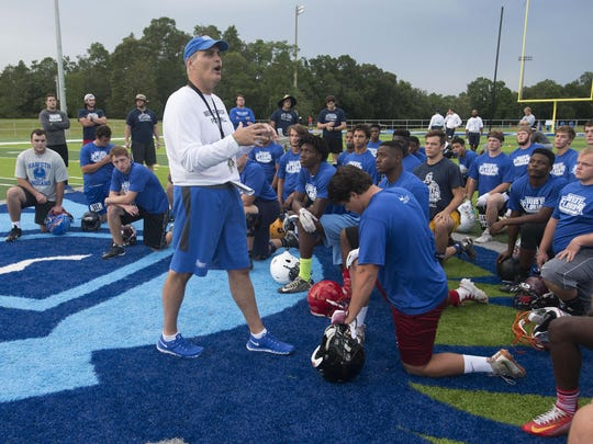 UWF Fooball Camp-High Shcool