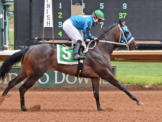 Fincher's Senorita qualifier Vocally in trial 2.