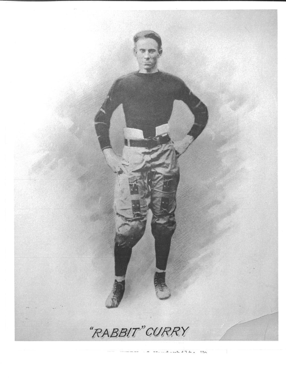 """Vanderbilt quarterback """"Rabbit"""" Curry, a teammate and"""