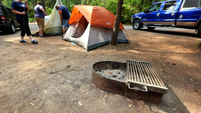 Camping will cost a little extra beginning Aug. 10 if you're visiting from out of state.