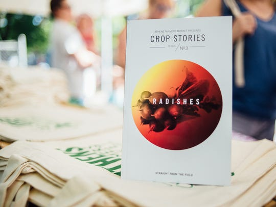 Crop Stories is a farmers market-driven publication