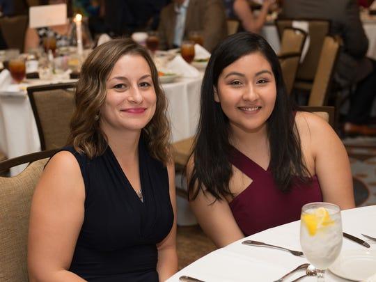 Sharra Rodriguez and Lillia Ramos
