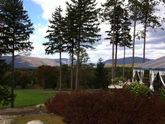 A view of the Hudson from The Garrison Golf Club