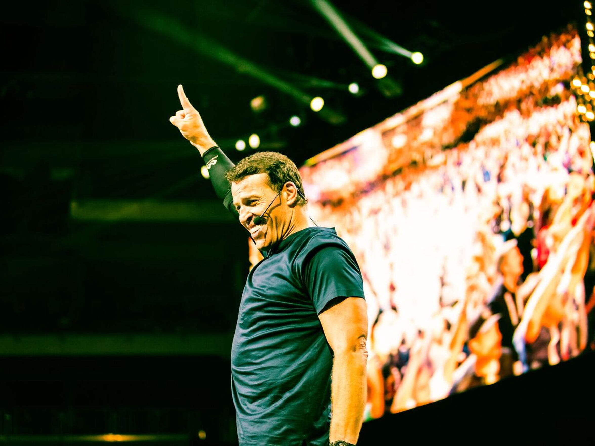 Tony Robbins has touched high-profile sports athletes