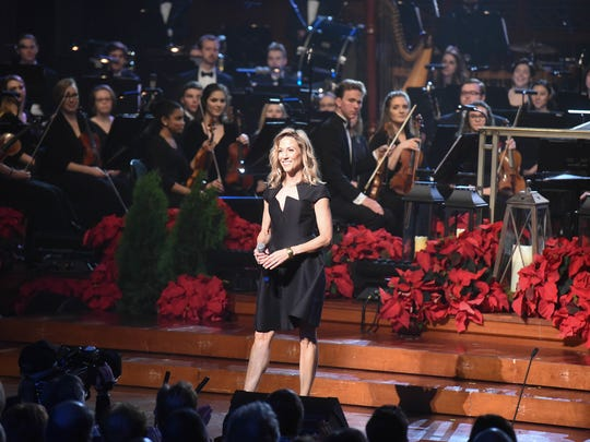"Sheryl Crow performs at ""Christmas at Belmont"" at the Schermerhorn Symphony Center in Nashville on Dec. 4, 2017."