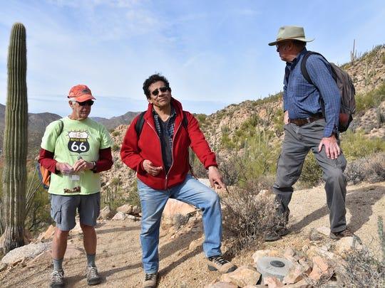 Dave Hicks, Francisco Mendoza and John Matteson at