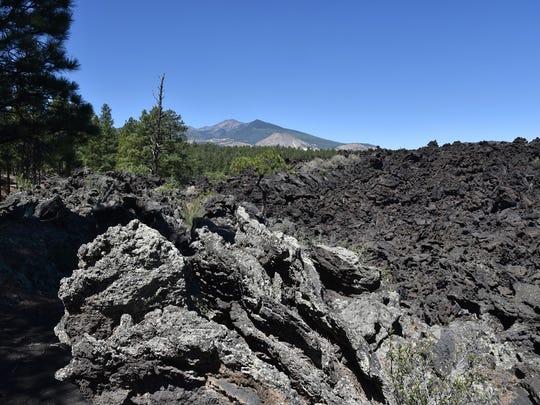 San Francisco Mountain is an extinct stratovolcano.