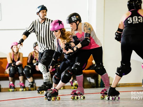 Rydell Belles will compete against the Dolls of Anarchy 7 p.m. Saturday, May 21, at The Mad House.