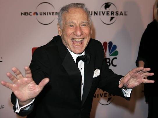Mel Brooks arrives for the NBC Universal/Focus Features