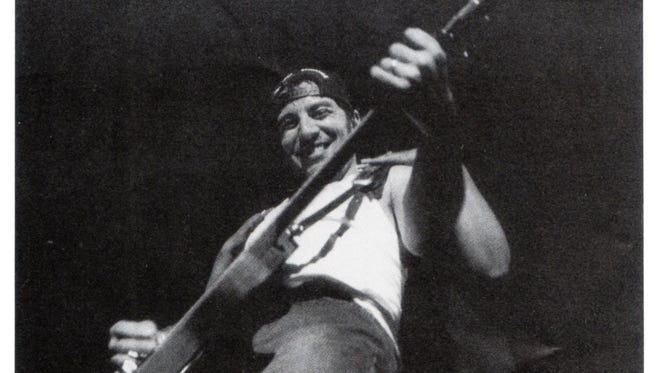 Bruce Springsteen at the Count Basie Theatre, March 23, 1993.