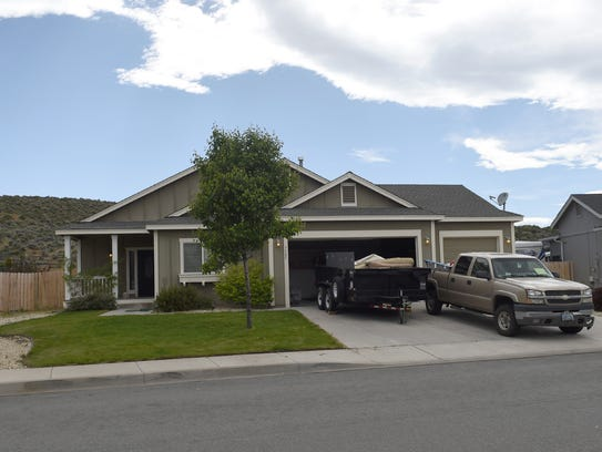 Home on 7585 Gold Drive.