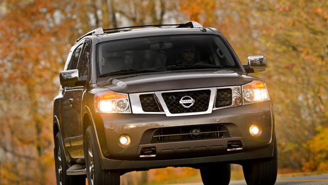 Consumer Reports says the worst value in a large SUV is the Nissan Armada Platinum