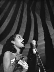 Billie Holiday, portrait by Chuck Stewart