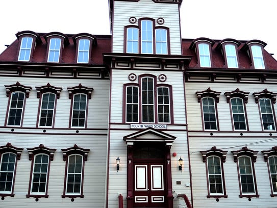 A look at the outside of The Fourth Ward School Museum