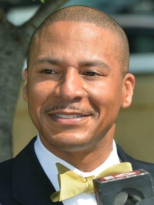 Jackson Public Schools superintendent candidate Cedrick Gray.
