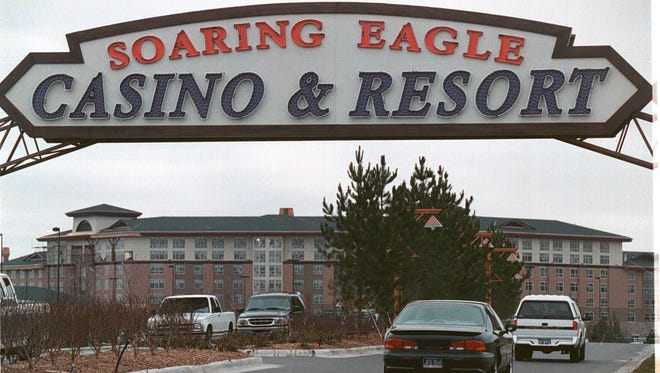File photo of Soaring Eagle, the largest casino in the state.