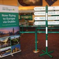 Aer Lingus aircraft at London Heathrow