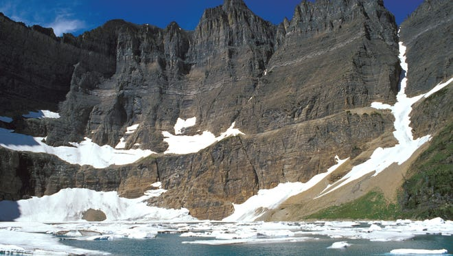 Scientists on April 7, 2010, said Glacier National Park in Montana had lost two more of its namesake moving icefields to climate change.